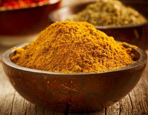 Turmeric, a healing and delicious kind of spices.