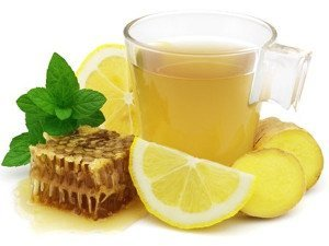 tea with lemοn