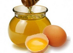 Egg and honey