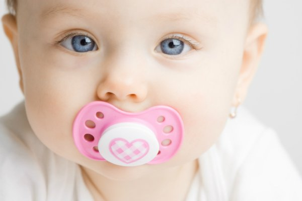 using pacifiers