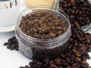 coffee lip scrub