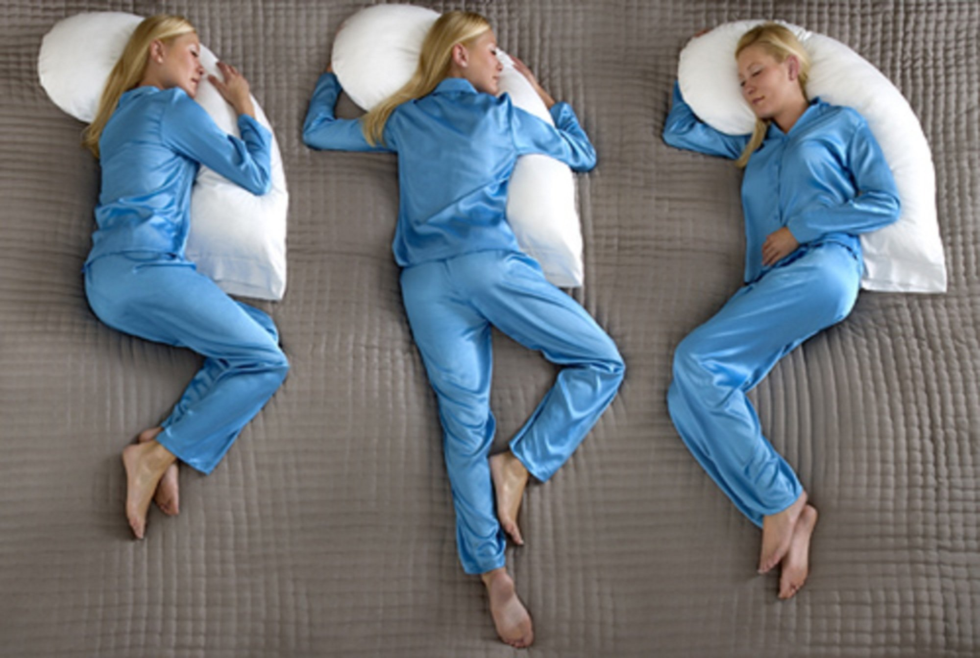 the position in which you sleep