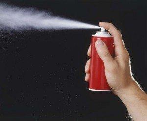 an aerosol