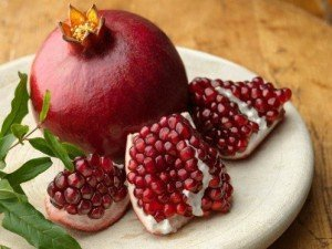 Pomegranate peels