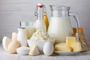 Dairy products: