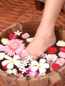 Feet baths