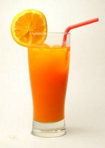 Fruit energetic drink