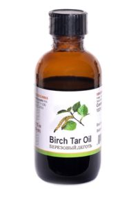 birch tar ointment