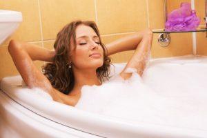 Vinegar baths