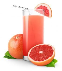 Grapefruit isotonic drink