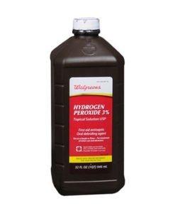hydrogen peroxide.
