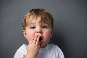 anker sores in children