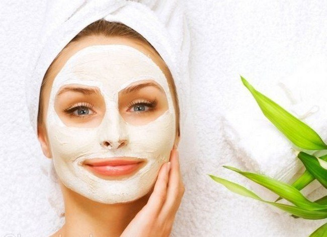 Cleansing facial mask