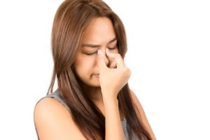 dry nasal passages