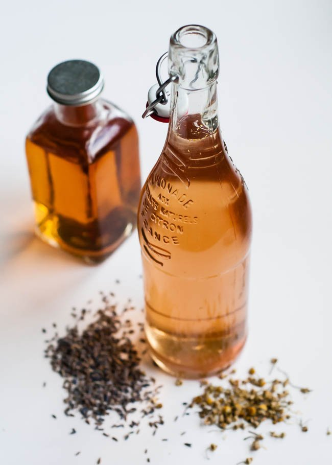 Rinsing with herbs