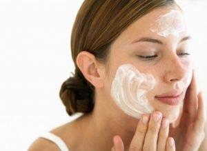 Against pimples
