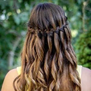 Waterrfall braid