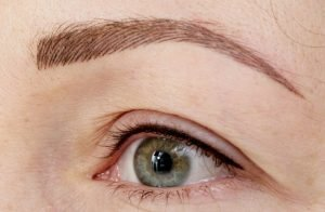 eyebrows tattoo