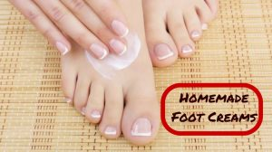 homemade foot cream