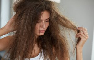 dry and thin hair