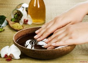 baths for nails
