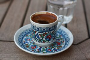Honey-garlic coffee