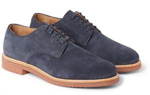 Suede shoe