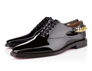 Patent leather shoe