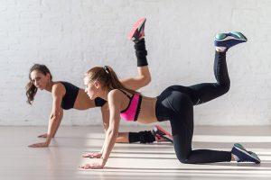 Bending legs workout