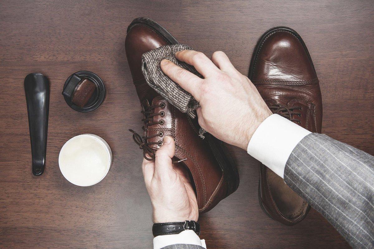 cleaning footwear