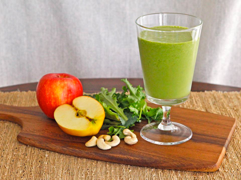 Green Smoothies with Spices
