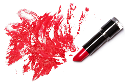 Stains from cosmetics