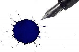 Stains from ink