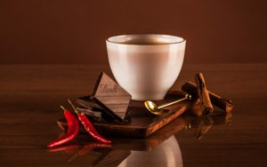 Spicy coffee