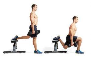 The Bulgarian squat