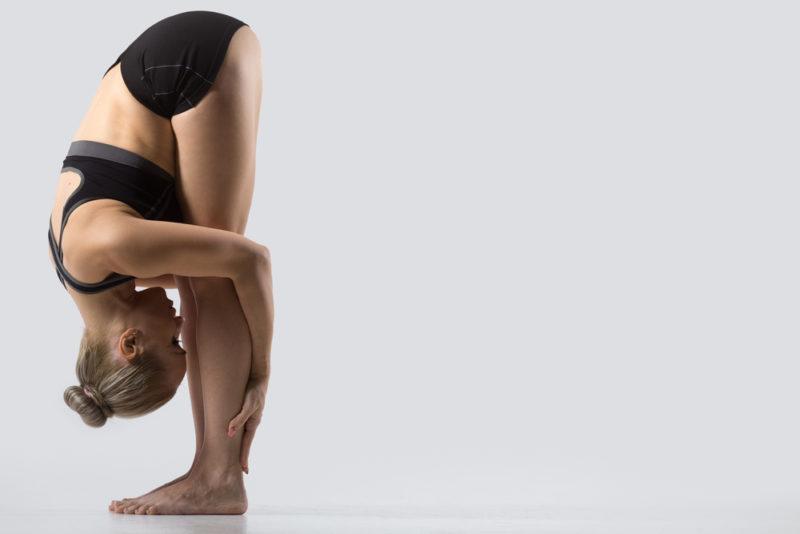 Body bend forward