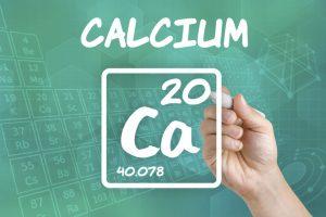 Symbol for the chemical element calcium