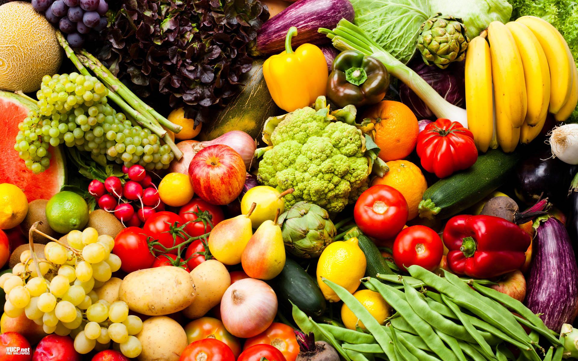 Vegetables, fruits
