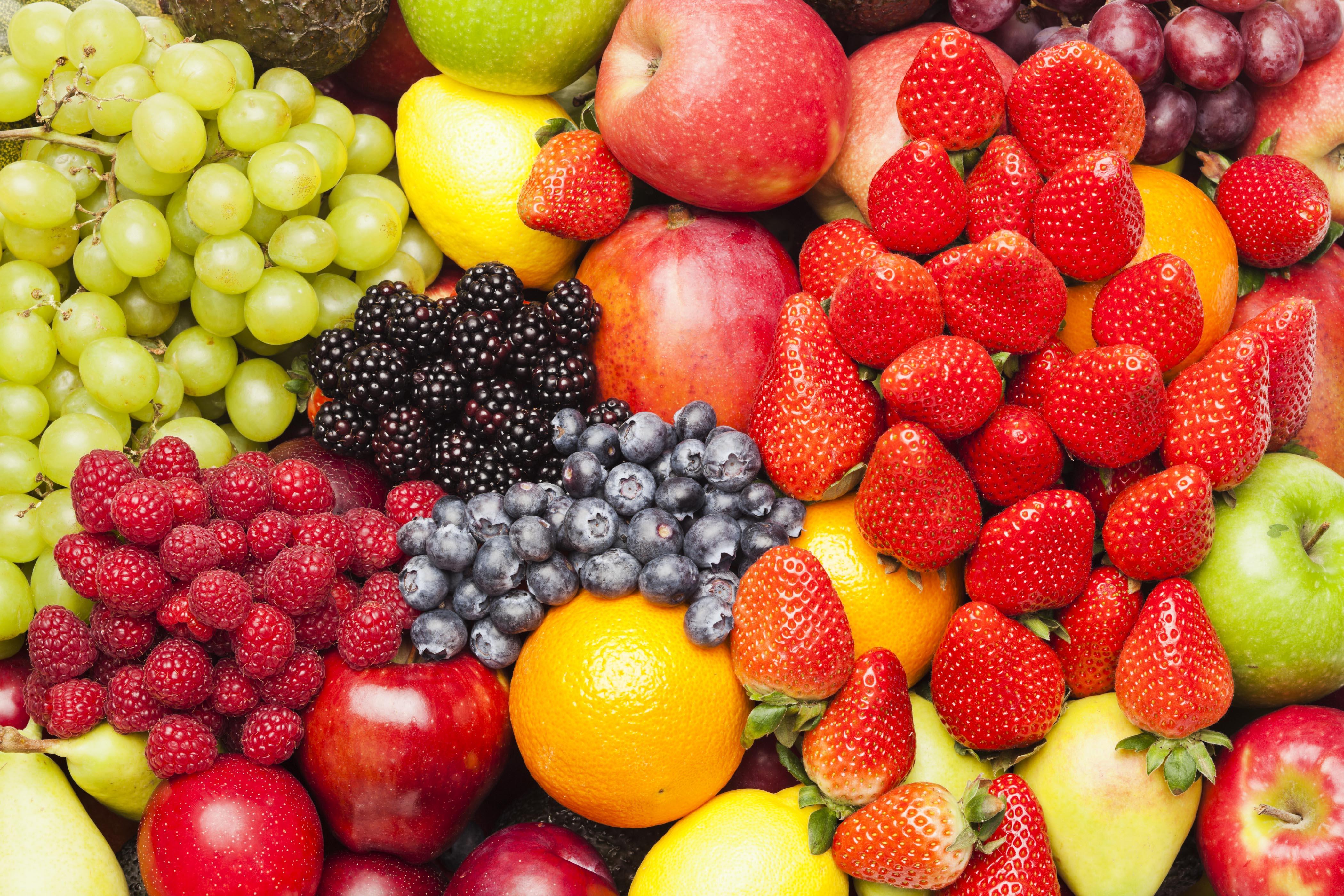 Heap of fruits