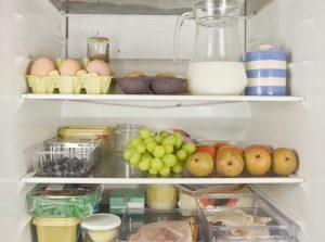 Mr & Mrs Average's fridge contents.